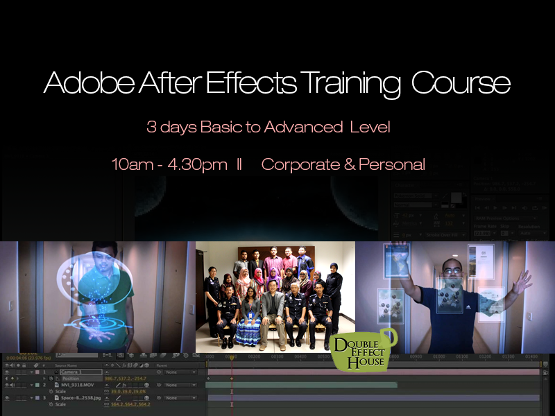 Adobe After Effects Training Course Malaysia