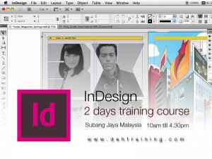 Adobe InDesign training course malaysia