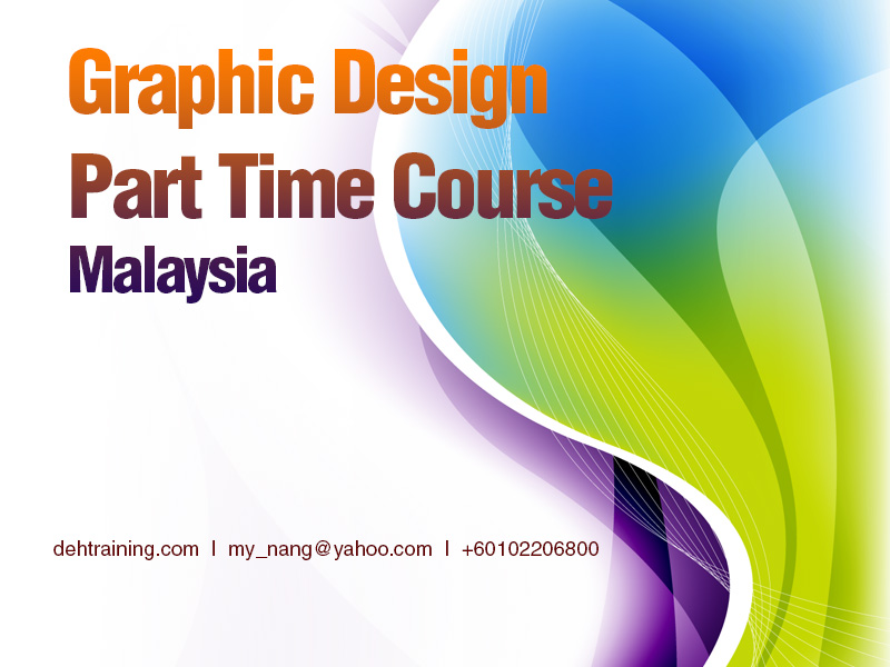 Graphic Design Part Time Course Malaysia
