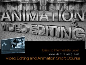 Video Animation Editing After Effects Short Course Double Effect Training House