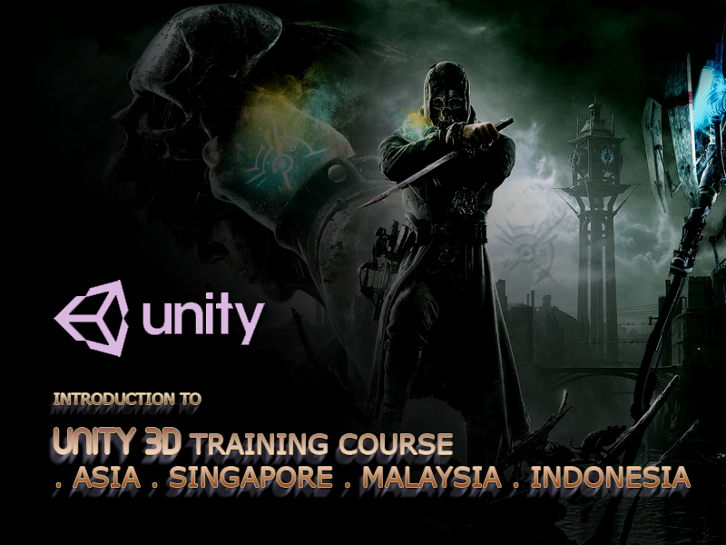 unity3d training course malaysia singapore indonesia asia