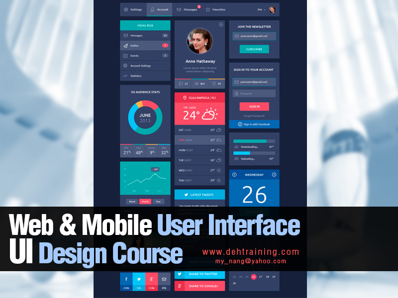 Web & Mobile User Interface Training Course Malaysia