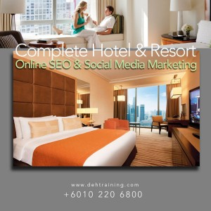 Social Media Strategy Online Marketing Strategy training course Hotel Malaysia