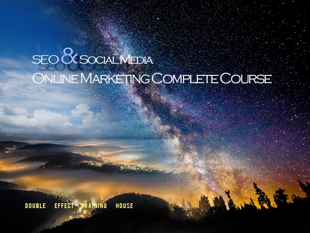 SEO Marketing Course 2017v