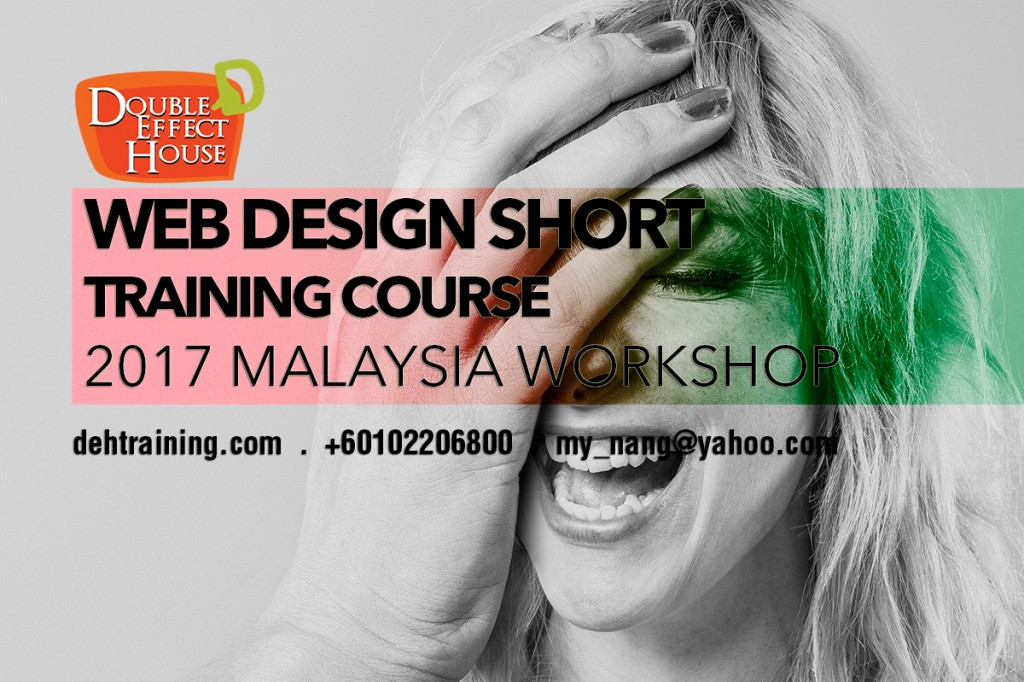 Web design short training course malaysia 2017