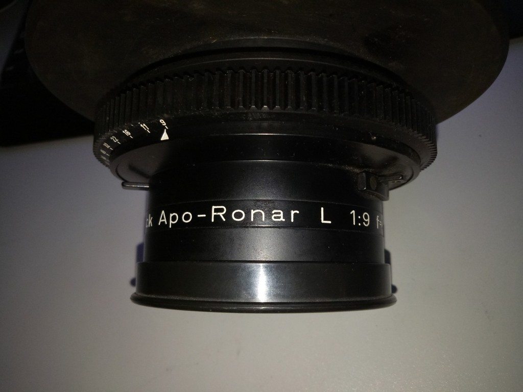 Rodenstock APO-Ronar L 1:9 f=485 mm 19 inch. Enlarger Large Format Screw Mount  Nang Asia Malaysia