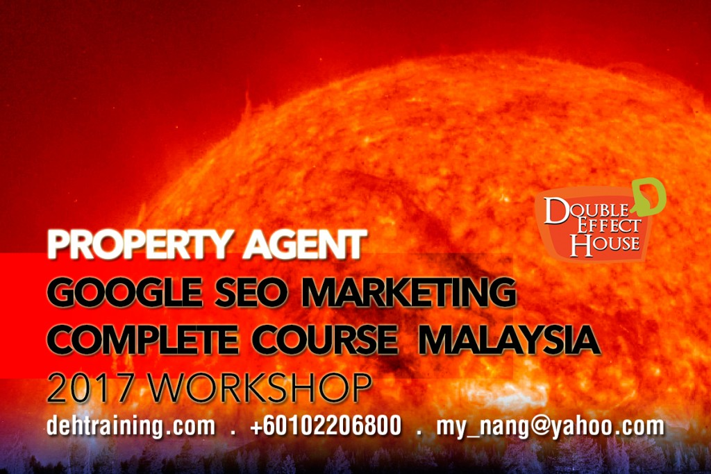 google seo marketing training course workshop malaysia