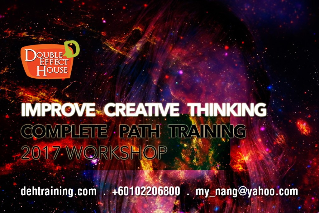 Improve Creative Thinking workshop malaysia 2017