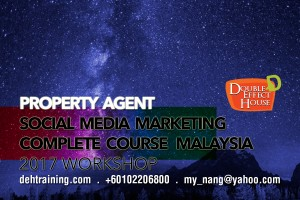 Property Agent Facebook Social Media Marketing-Complete-Course Malaysia 2017 Workshop