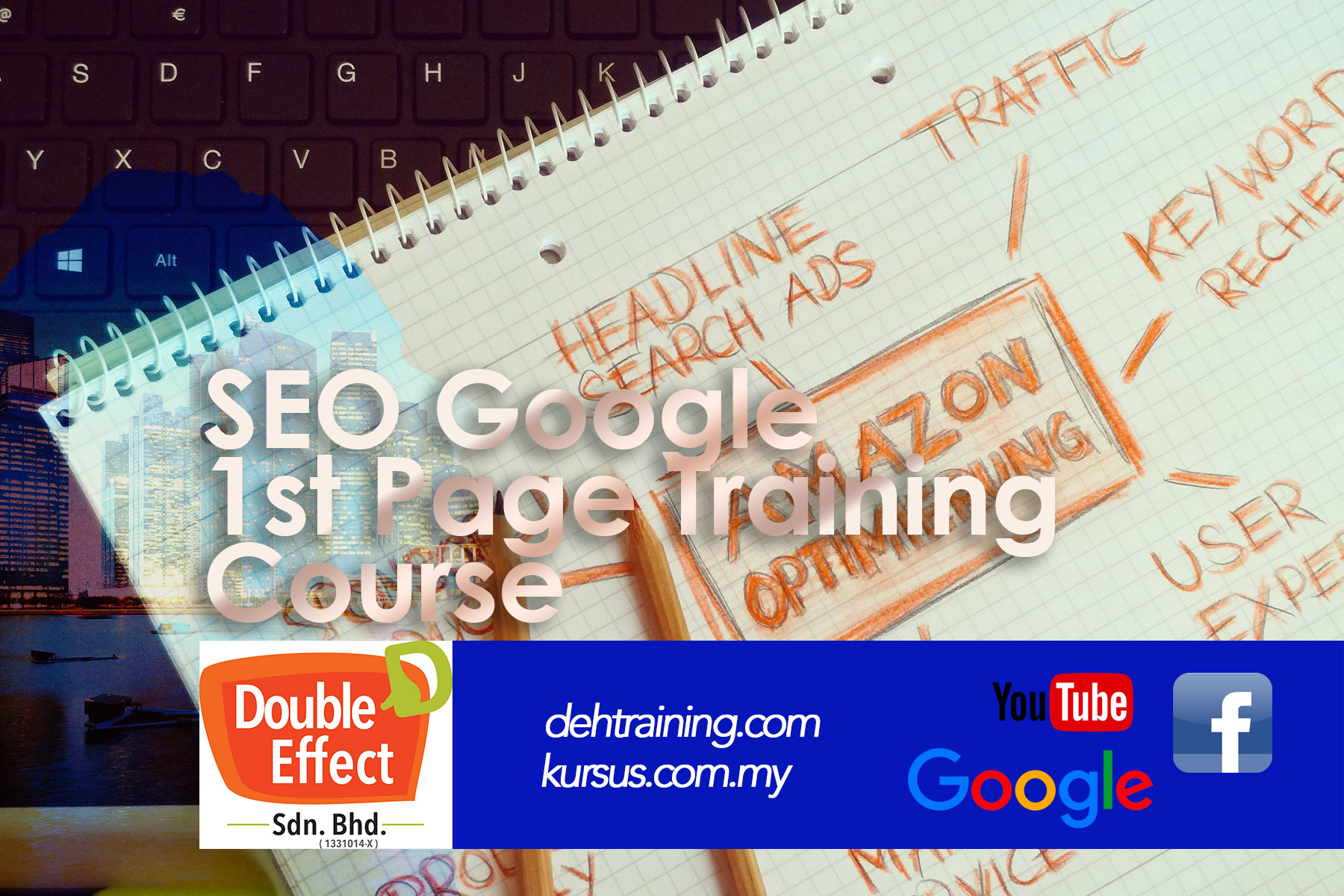seo google 1st page ranking training course