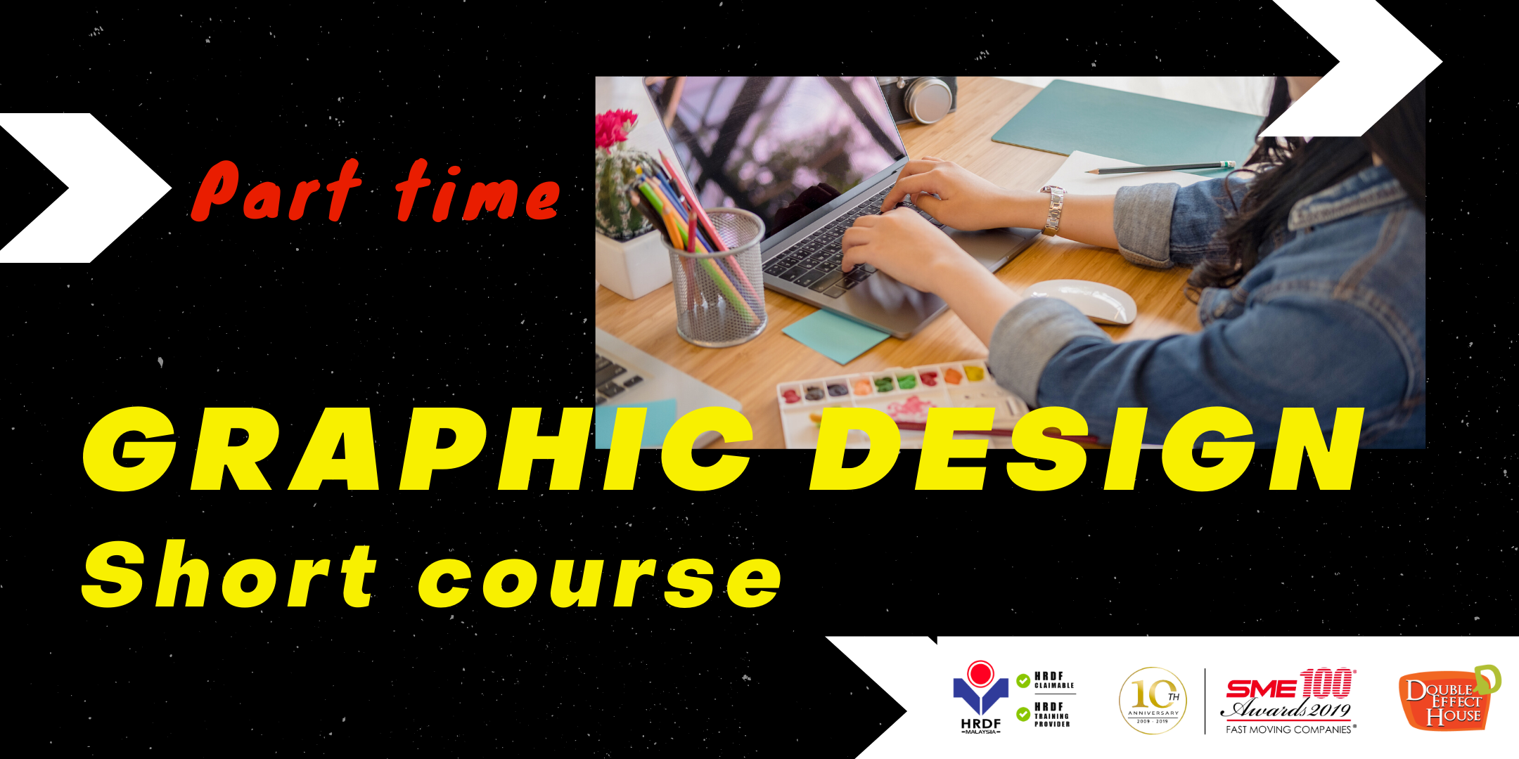 part time graphic design short course